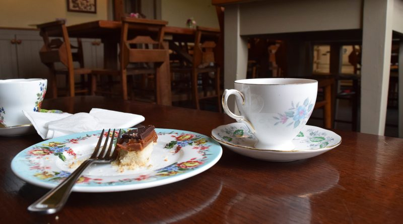 Tea and cake at Allan Bank, Grasmere. Photo by Best Places Travel