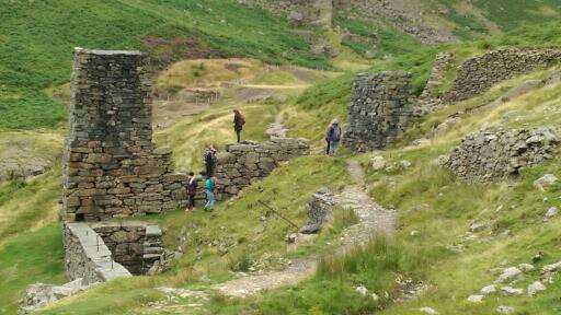 Visitors at Coniston Mines old kiln. Photo by Best Places Travel