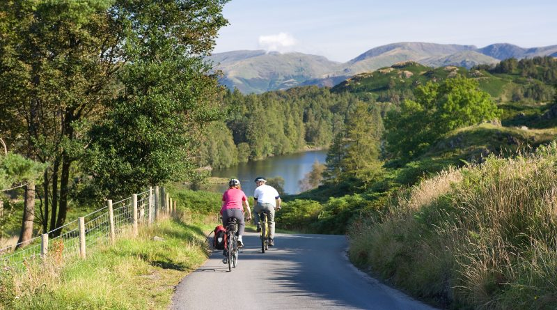 Cyclists in the Coniston Area. Photo by Ben Barden